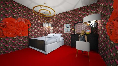 my room - Glamour - Bedroom  - by piepumpkin