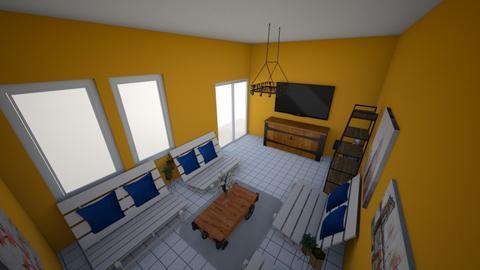 Runos - Rustic - Living room  - by juliyus_wardian