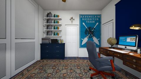 Ravenclaw Teen 2 - Bedroom  - by SammyJPili