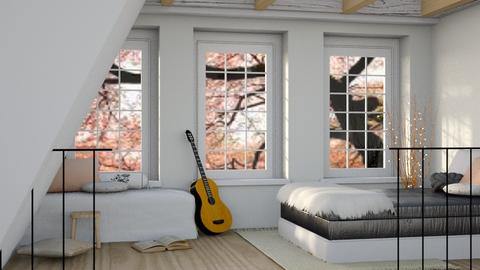 April - Modern - Bedroom  - by millerfam
