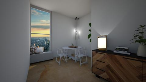 minimal comfort - Minimal - Dining room  - by tappatron