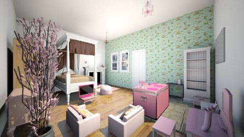 Julias Room - Classic - Bedroom - by thomas150