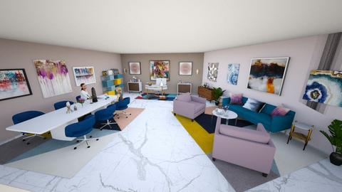 Modern Playful Office - Modern - Office  - by cameighh