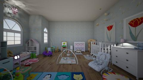 InfantandToddlerNursery - Kids room  - by PeculiarLeah