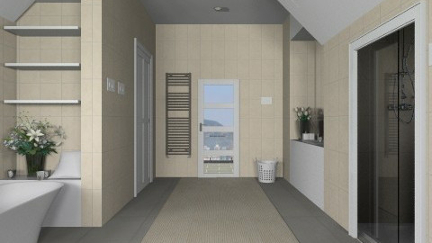Bathroom005 - Modern - Bathroom  - by Ivana J