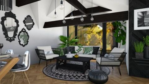 Salinas  - Living room  - by Liu Kovac