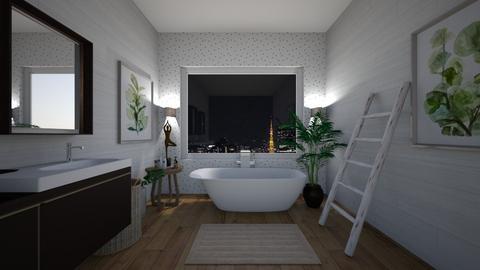 sleep - Modern - Bathroom  - by hicran yeniay