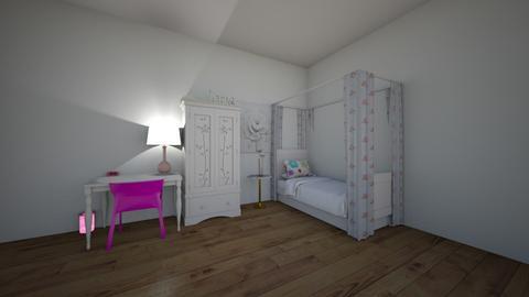 flower room - Kids room  - by horseeve