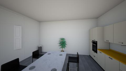 Krissys Kitchen - Modern - Kitchen - by bigdinokristen