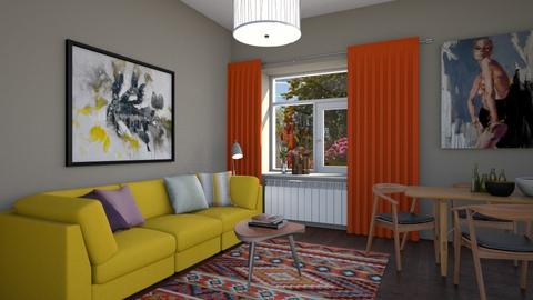 Thomas - Living room  - by Claudia Correia