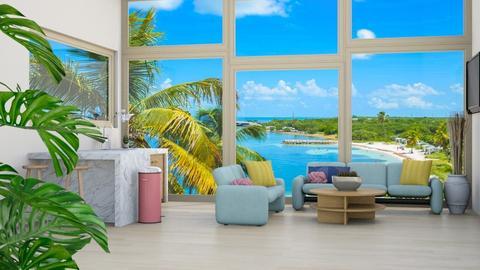 Big windows beach house - by weinsteinfam