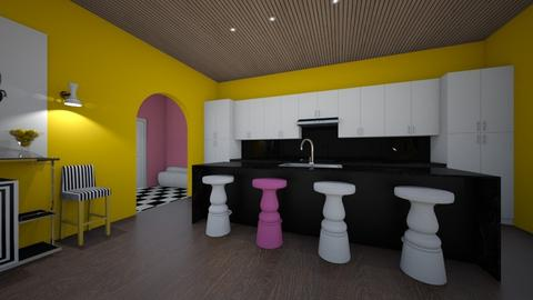 80s retro kitchen - Kitchen  - by erladisgudmunds