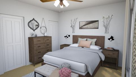 Master Bedoom - Country - Bedroom - by allielarson