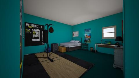 Big Boy Room - Bedroom  - by Raine Malloy
