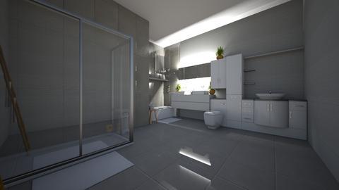 Simple Bathroom - Classic - Bathroom - by HyperPiper