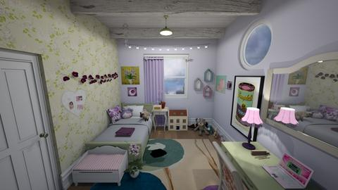 daughters room - Kids room  - by leilaaaa_jean