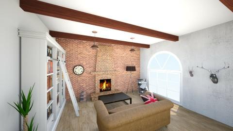 az - Vintage - Living room  - by shoupie