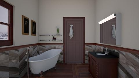 Small - Bathroom - by yonvie