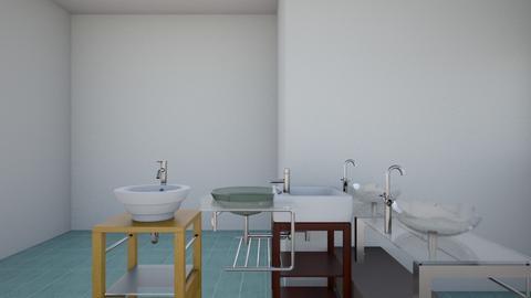 lily pond bathroom - Bathroom - by Moonpearl
