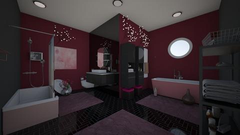 Black Cherry - Modern - Bathroom  - by Irishrose58