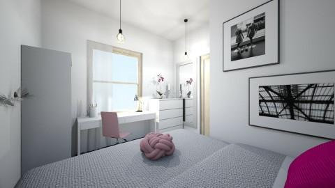 D room - Modern - Bedroom - by gyorevera