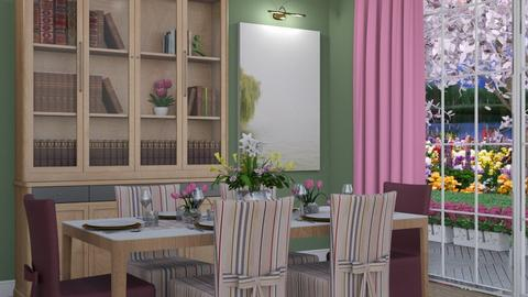 Spring has Sprung - Eclectic - Dining room - by Theadora