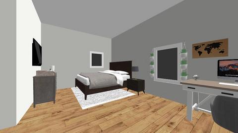 modern bedroom for tiener - Modern - Bedroom  - by sharlena