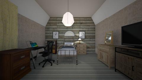 Attic Room - Bedroom  - by mspence03