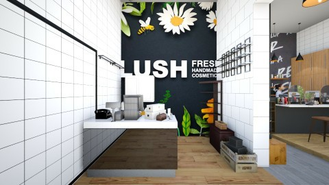 Official LUSH STORE - by Claire Collier