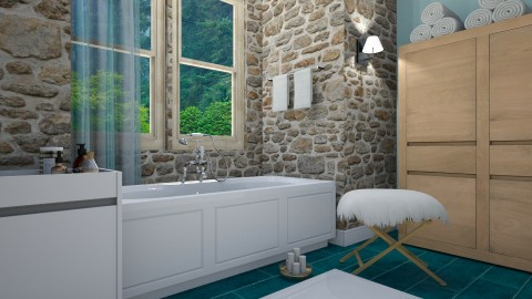 ...from the reader - 1 Ju - Country - Bathroom  - by duygu123
