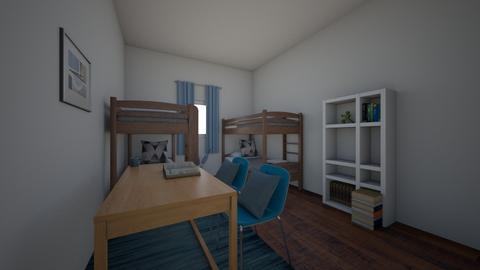 bedroom - by rachel 123