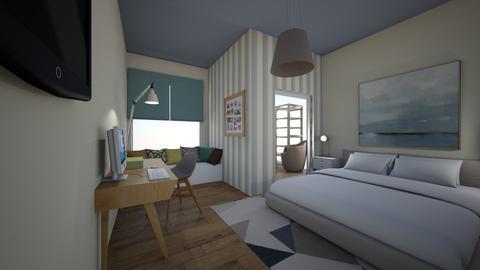 SINGLE BEDROOM - Bedroom - by bettamarchegiano