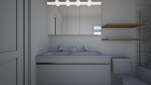 master bath reno - Minimal - Bathroom  - by Kaityn