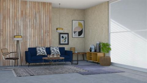 Terence Conran Tribute - Living room  - by SouthernDeco