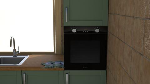 Kuhinja - Kitchen - by _ana_
