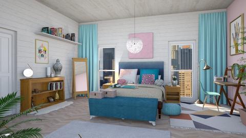 Dream Room - Eclectic - Bedroom  - by WubMaxWax