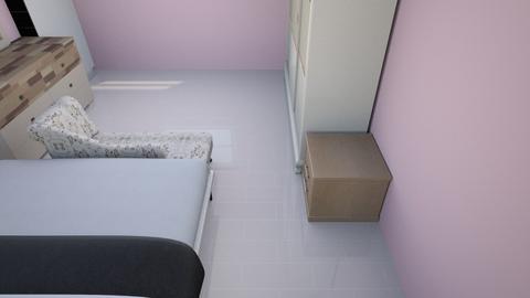 Master Bedroom V4 Bad - Modern - Bedroom  - by Sparkbleh