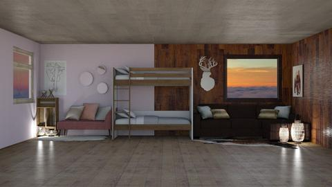 Double Style - Rustic - Bedroom - by BohoCHicc