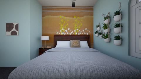 Cute_Vintage Bedroom - Vintage - Bedroom  - by D_L