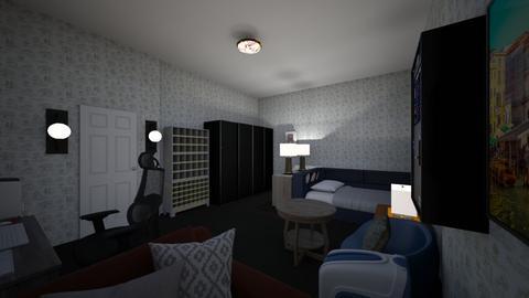 kamar impian ku - Bedroom  - by dikyravi23