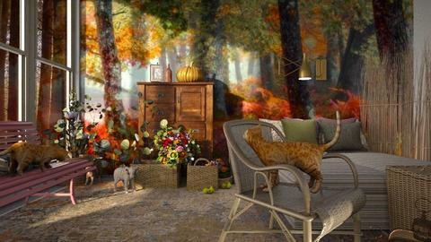 Autumn_Bedroom - Bedroom  - by ZuzanaDesign