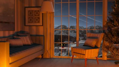 The Fires Glow - Classic - Living room  - by millerfam
