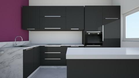 ddn - Kitchen - by hannahre