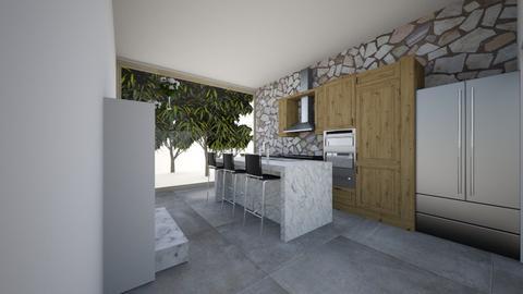 Rustic Kitchen - Rustic - Kitchen - by jaydemakenzie