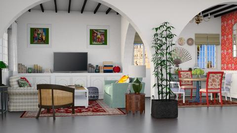 Sevilla - Living room  - by Charipis home