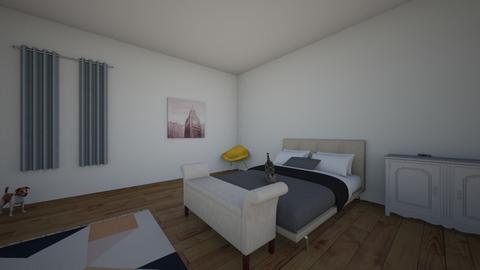 Room 1 Technologies - Bedroom - by Pinar Duzgun