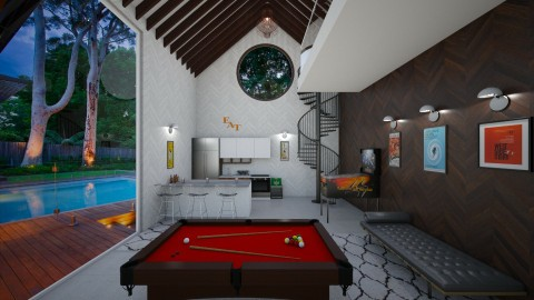 Pool House - by traynordesigns