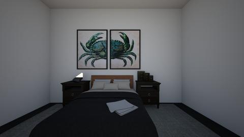 black room - Bedroom  - by ana clara garcia