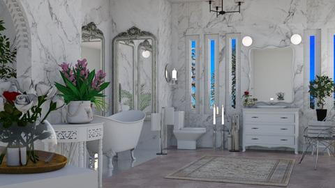 Shabby Chic Bath - Modern - Bathroom  - by Sue Bonstra
