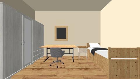 habitacion - Minimal - Bedroom - by alvin_